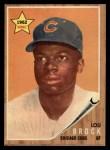 1962 Topps #387  Lou Brock  Front Thumbnail