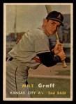 1957 Topps #369  Milt Graff  Front Thumbnail