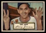 1952 Topps #5 BLK Larry Jansen  Front Thumbnail