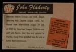 1955 Bowman #272  John Flaherty  Back Thumbnail
