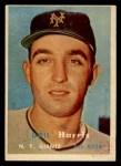 1957 Topps #281  Gail Harris  Front Thumbnail