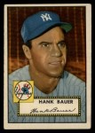 1952 Topps #215  Hank Bauer  Front Thumbnail
