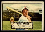 1952 Topps #160 CRM Owen Friend  Front Thumbnail