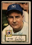 1952 Topps #48 ^RED^ Joe Page  Front Thumbnail