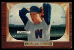 1955 Bowman #105  Johnny Schmitz  Front Thumbnail