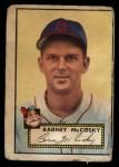 1952 Topps #300  Barney McCoskey  Front Thumbnail