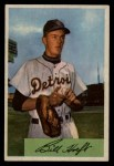 1954 Bowman #167  Billy Hoeft  Front Thumbnail