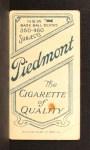 1909 T206 CAP John McGraw  Back Thumbnail