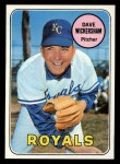 1969 Topps #647  Dave Wickersham  Front Thumbnail