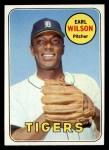 1969 Topps #525  Earl Wilson  Front Thumbnail
