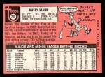 1969 Topps #230  Rusty Staub  Back Thumbnail