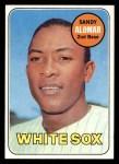1969 Topps #283  Sandy Alomar  Front Thumbnail
