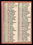 1969 Topps #412   -  Mickey Mantle Checklist 5 Back Thumbnail