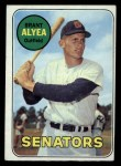1969 Topps #48  Brant Alyea  Front Thumbnail