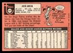 1969 Topps #473 ^YN^ Jose Arcia  Back Thumbnail