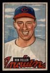 1951 Bowman #30  Bob Feller  Front Thumbnail