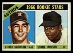 1966 Topps #244   -  Sonny Jackson / Chuck Harrison Astros Rookies Front Thumbnail