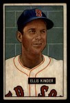 1951 Bowman #128  Ellis Kinder  Front Thumbnail