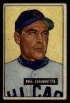 1951 Bowman #138  Phil Cavarretta  Front Thumbnail