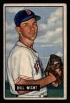 1951 Bowman #164  Bill Wight  Front Thumbnail