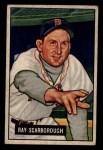 1951 Bowman #39  Ray Scarborough  Front Thumbnail
