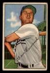 1952 Bowman #136  Gene Hermanski  Front Thumbnail