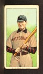1909 T206 #67 BAT Fred Clarke  Front Thumbnail