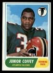 1968 Topps #21  Junior Coffey  Front Thumbnail
