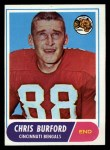 1968 Topps #43  Chris Burford  Front Thumbnail