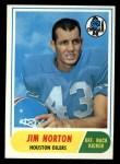 1968 Topps #41  Jim Norton  Front Thumbnail