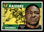1968 Topps #90  Clem Daniels  Front Thumbnail