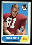 1968 Topps #86  Jackie Smith  Front Thumbnail
