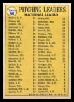 1970 Topps #69   -  Fergie Jenkins / Juan Marichal / Phil Niekro / Tom Seaver NL Pitching Leaders Back Thumbnail