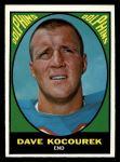 1967 Topps #88  Dave Kocourek  Front Thumbnail