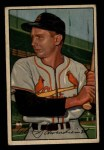 1952 Bowman #30  Red Schoendienst  Front Thumbnail