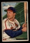 1952 Bowman #196  Stan Musial  Front Thumbnail
