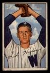 1952 Bowman #123  Sid Hudson  Front Thumbnail