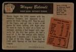 1955 Bowman #36  Wayne Belardi  Back Thumbnail