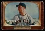 1955 Bowman #124  Johnny Antonelli  Front Thumbnail
