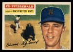 1956 Topps #198  Ed Fitzgerald  Front Thumbnail