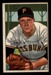 1952 Bowman #191  Bob Friend  Front Thumbnail
