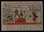 1956 Topps #108 GRY Laurin Pepper  Back Thumbnail