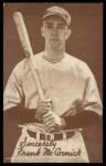 1939 Exhibits Salutations LFT Frank McCormick   Front Thumbnail