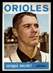 1964 Topps #322  George Brunet  Front Thumbnail