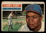 1956 Topps #250  Larry Doby  Front Thumbnail