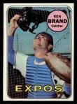 1969 Topps #549  Ron Brand  Front Thumbnail