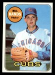 1969 Topps #115  Bill Hands  Front Thumbnail