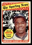 1969 Topps #429   -  Willie Horton All-Star Front Thumbnail