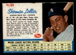 1962 Post #53  Sherman Lollar   Front Thumbnail