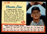 1962 Post #179  Vern Law   Front Thumbnail